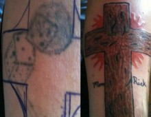 Greg's CoverUp Cross